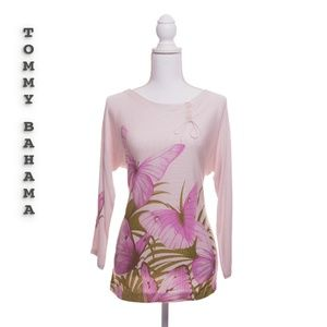 Tommy Bahama Butterfly Top Size M